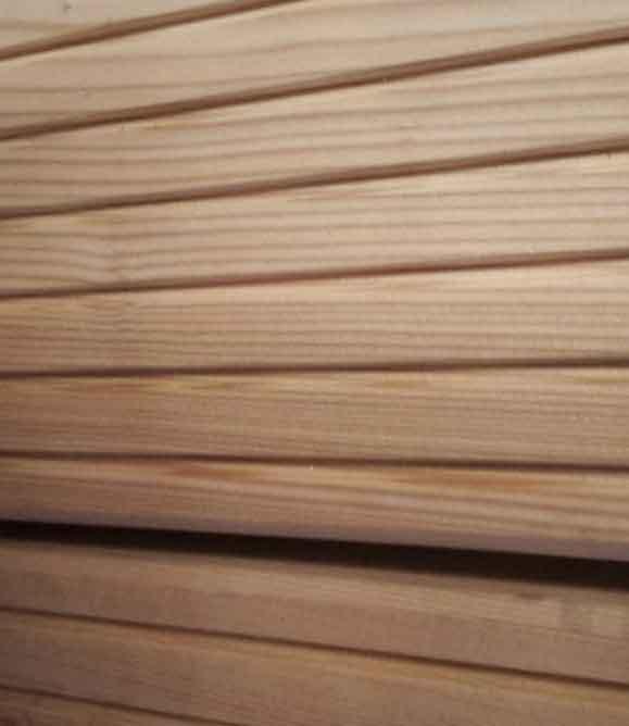 terrassendielen geriffelt genutet gefast oder glatt genutet gefast 145 45 mm sibirische. Black Bedroom Furniture Sets. Home Design Ideas