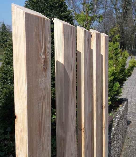 Zaunlatten 95 21 Mm Sibirische Larche Hobeldielen Odessa Holzhandel