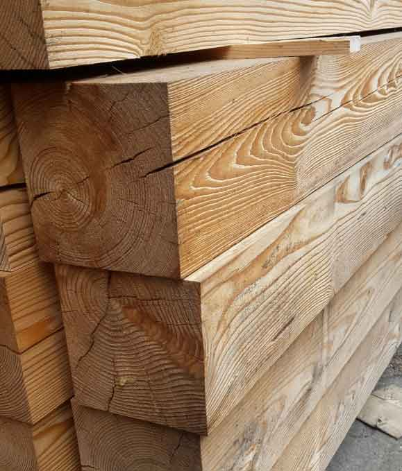 bauholz pfosten 100 100 mm sibirische l rche 10 0 x 10 0 cm kantholz konstruktionsbalken. Black Bedroom Furniture Sets. Home Design Ideas