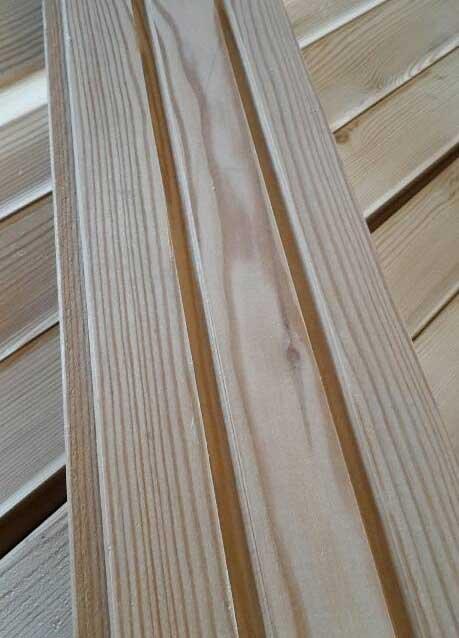 Faseprofil 121 21 Mm Sibirische Larche Holzschalung Nut Feder